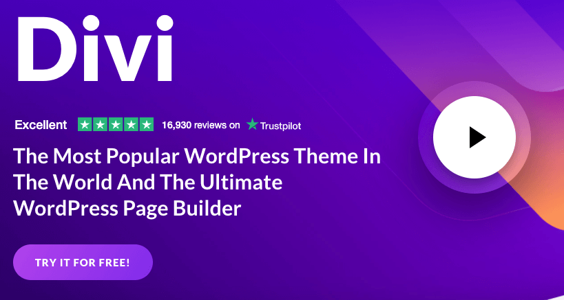 Divi Promo Popular Page Builder